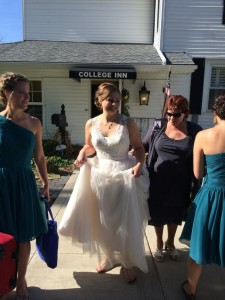 College Inn hosts wedding party