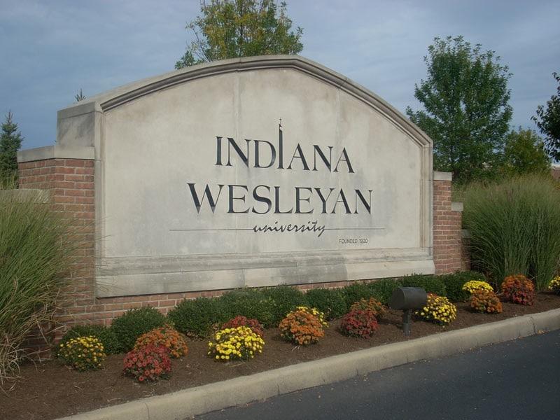 Wesleyan University Sign